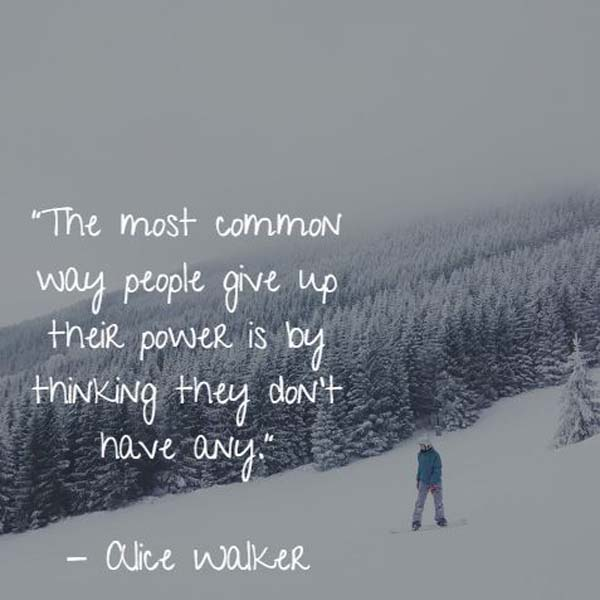 Alice Walker on Power