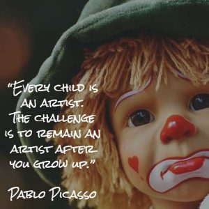 Pablo Picasso: Every Child Is an Artist