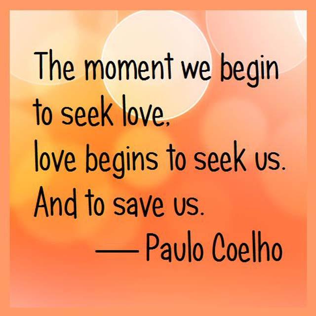 Paulo Cuelho on Love