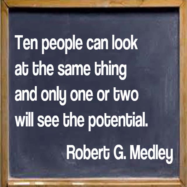 Robert Medley: On Success