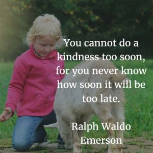 Ralph Waldo Emerson on Kindness