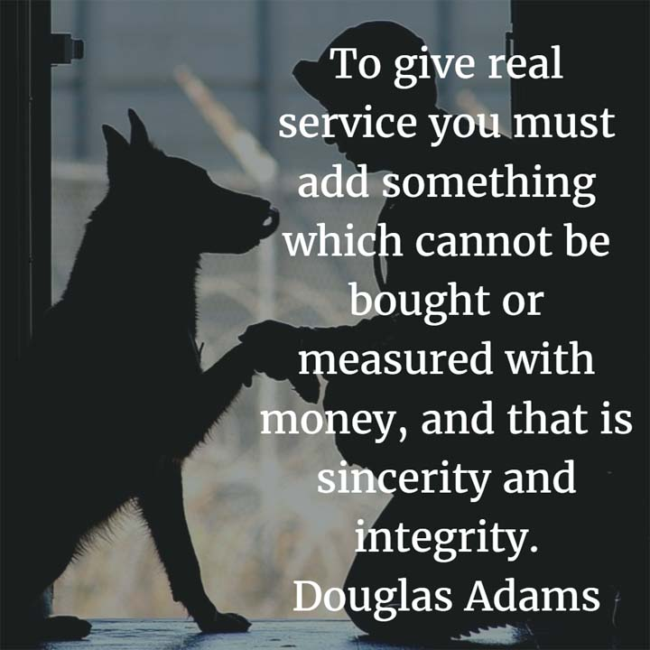 Douglas Adams on Real Service