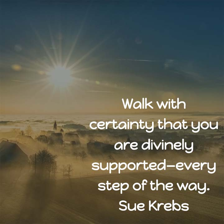Sue Krebs on Divine Support