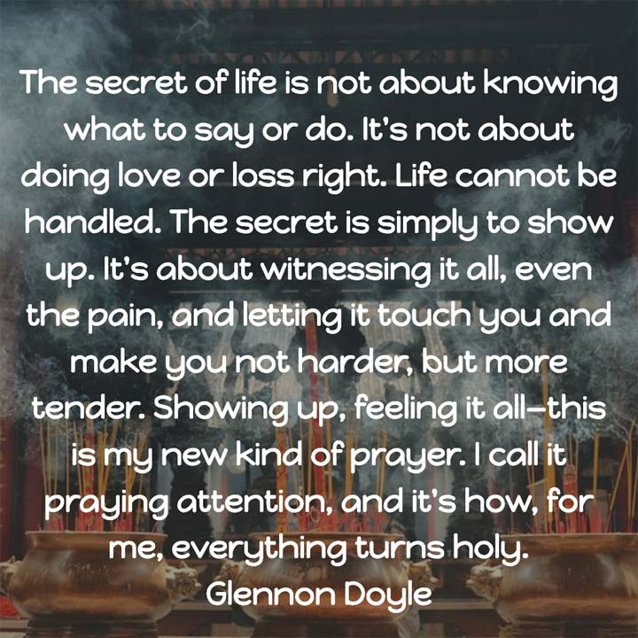 Glennon Doyle on Praying Attention