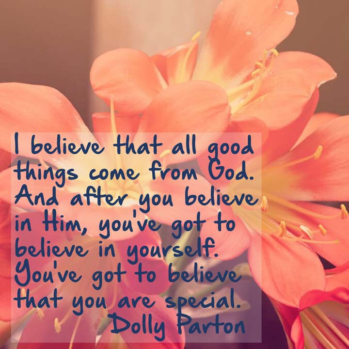 Dolly Parton on God