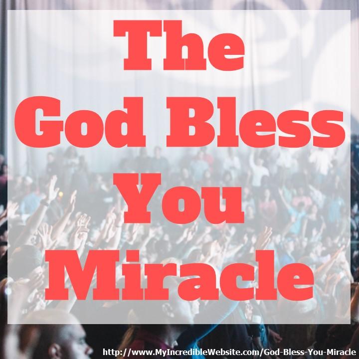 The God Bless You Revolution