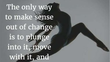 Alan Watts on Change