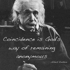 Albert Einstein: On Coincidence