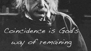 Albert Einstein: On Coincidence