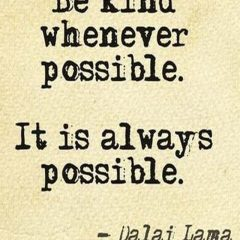 The Dalai Lama on Kindness