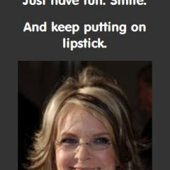 Diane Keaton on Having Fun