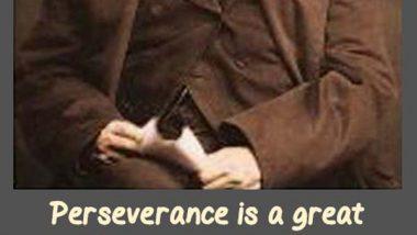 Henry Wadsworth Longfellow: On Perseverance