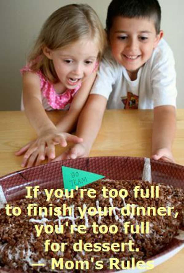 Mom's Rule #2