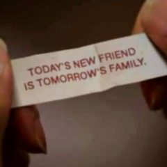 NCIS fortune cookie