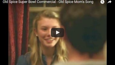 Old Spice Superbowl Ad