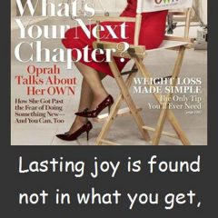 Oprah Winfrey: On Joy