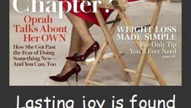 Oprah Winfrey: On Joy