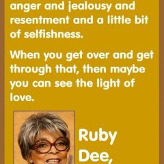 Ruby Dee On Marriage