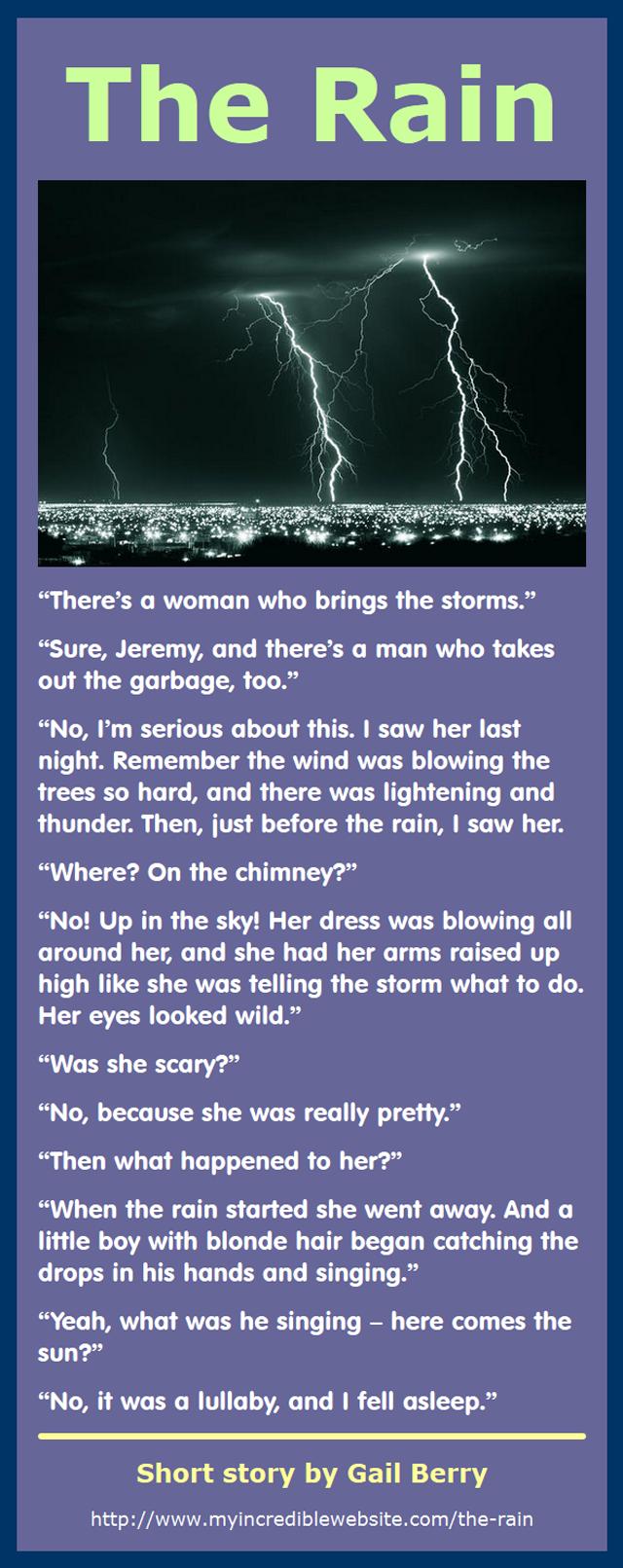 The Rain by Gail Berry
