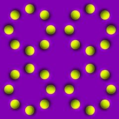 The Spinning Balls Illusion: Optical Illusion