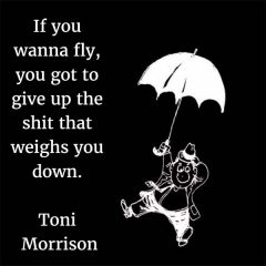 Toni Morrison: On Flying
