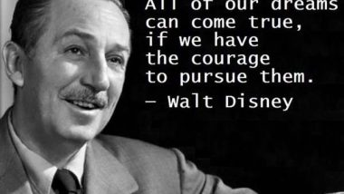 Walt Disney: On Dreams