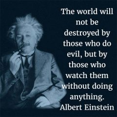 Albert Einstein: On Evil