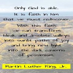 Martin Luther King on God