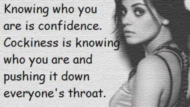 Mila Kunis On Confidence