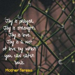 Mother Teresa on Joy