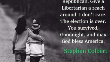 Stephen Colbert: God Bless America