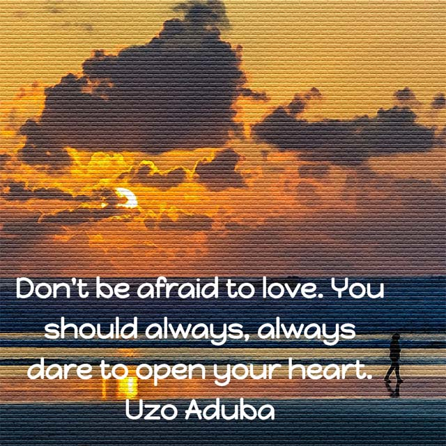 Uzo Aduba on Love