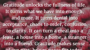 Melody Beattie on Gratitude
