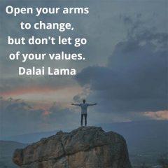Dalai Lama on Change
