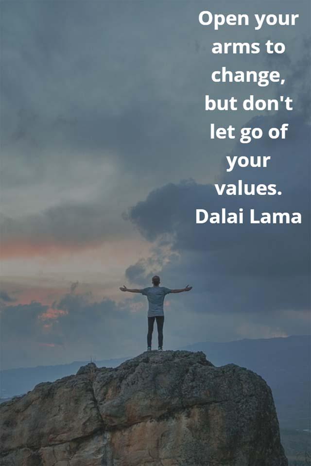 Dalai Lama on Values