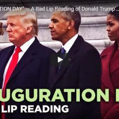 Bad Lip Reading - Presidential Inauguration