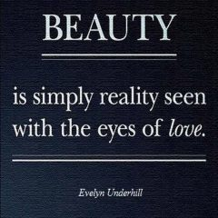Evelyn Underhill on Beauty and Love