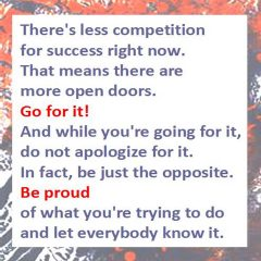 Less Competition - Go For It