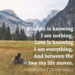 Nisargadatta Maharaj quote
