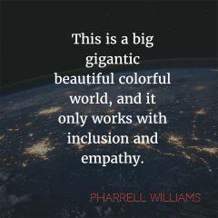 Pharrell Williams on Inclusion