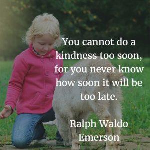 Ralph Waldo Emerson on Kindness