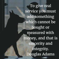 Douglas Adams on Real Service