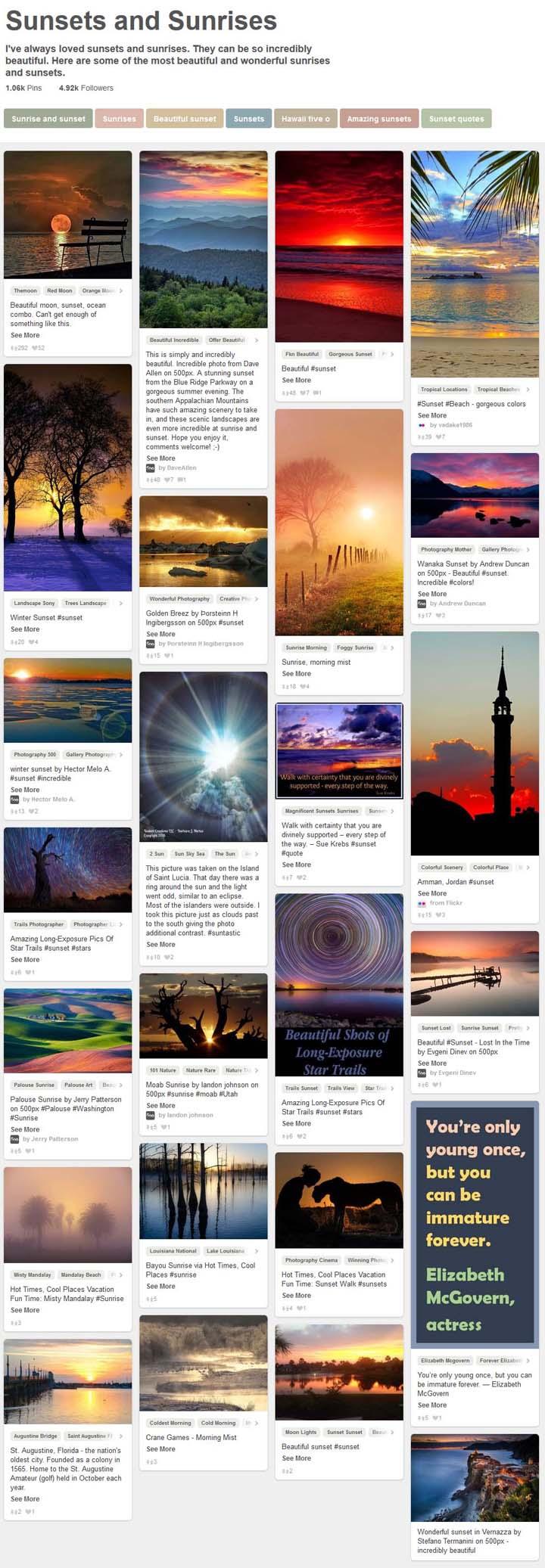 24 Sunsets