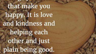 Laura Ingalls Wilder on being happy