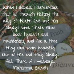 Mahatma Gandhi on Truth and Love