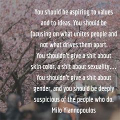 Milo Yiannopoulos on People