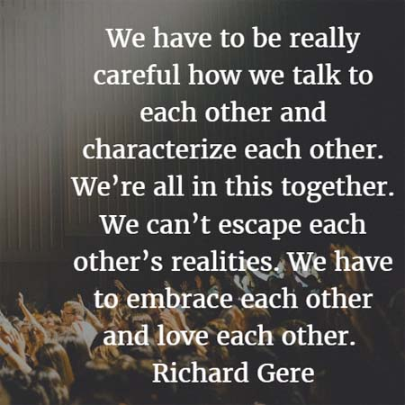 Richard Gere: Talk to Each Other - Famous, Rich, and Successful People Who Were High School or College Dropouts