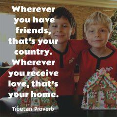 Tibetan Proverb