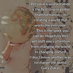Gary Zukav on personal transformation