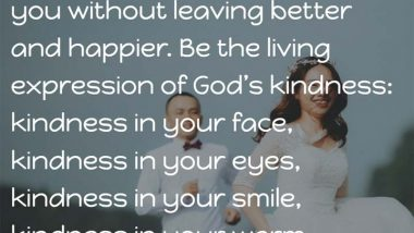 Mother Teresa on Kindness
